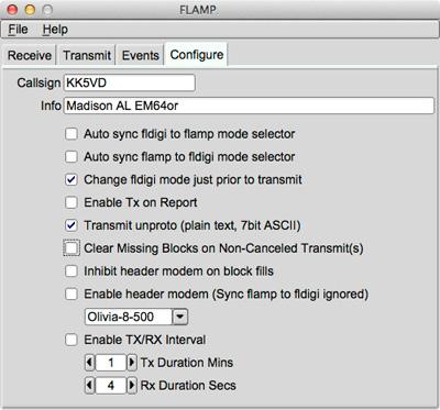 FLAMP Users Manual: FLAMP Users Manual - Version 2 1 02