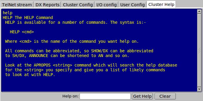 flcluster-help: FLCLUSTER Users Manual - Version 1 0